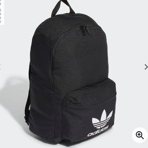 Adidas back pack black back to school brand new